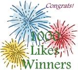 1000 Likes Winners