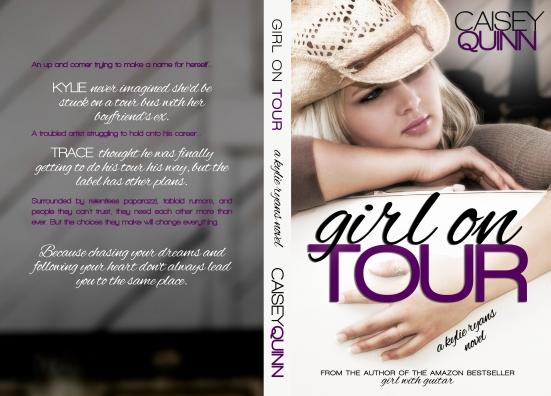 Girl on Tour - Caisey Quinn - Full Spread